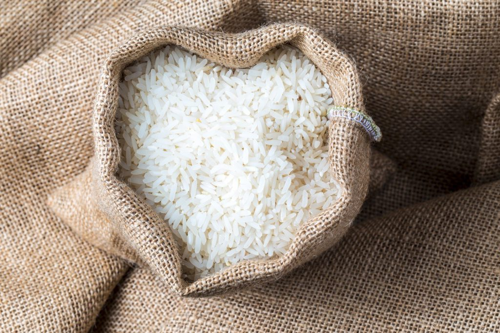 Bag of rice image