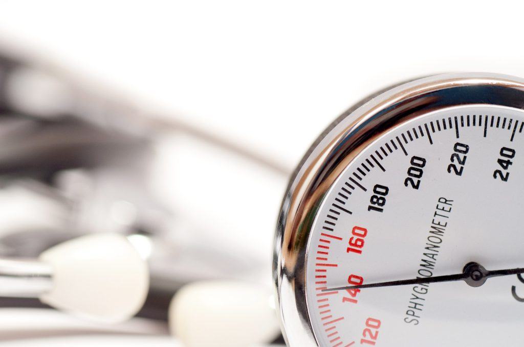 Blood pressure reading image