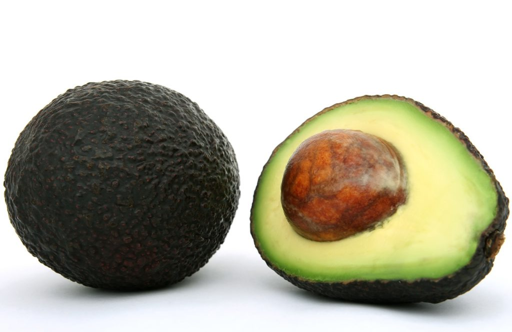 Avocado halved image