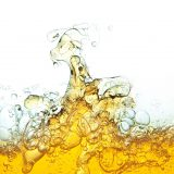 Oil and water mixing