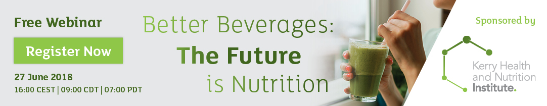 Better Beverages: The Future is Nutrition
