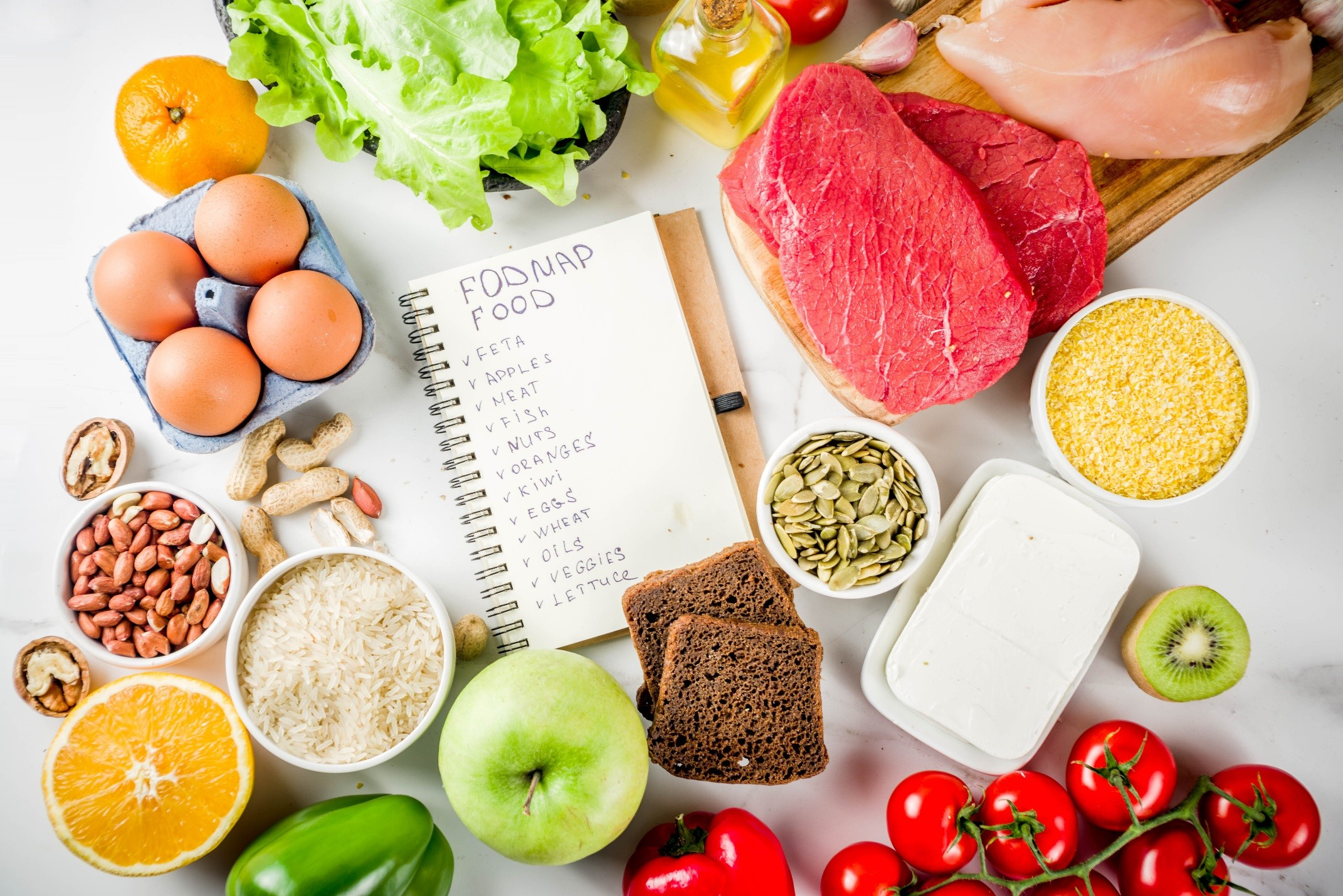 fodmap diet no meat