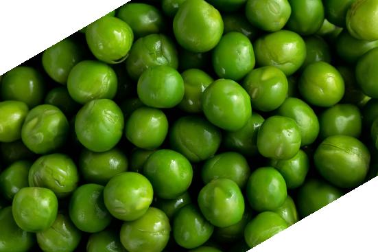 Close up of peas