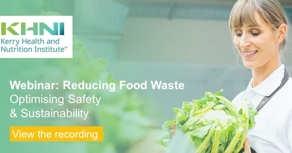 Reducing Food Waste - view the full recording here